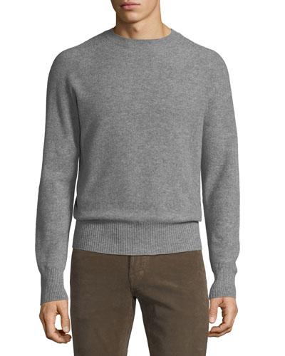 Mens Sweaters Sweatshirts Crewneck Sweater At Bergdorf Goodman