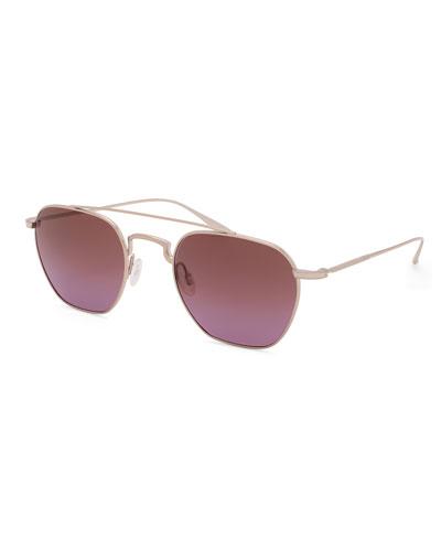 Men's Doyen Metal Aviator Sunglasses