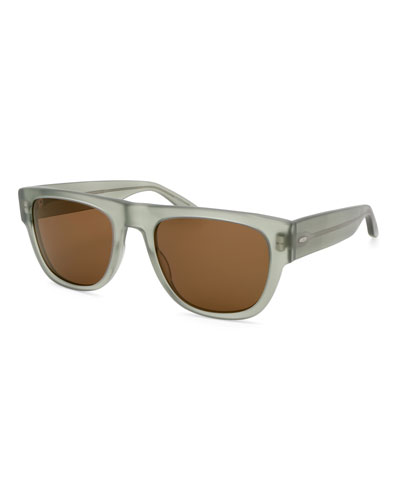 Men's Kahuna Square Acetate Sunglasses