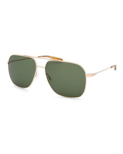 b53b8034b89a Promotion Men s Aeronaut Aviator Sunglasses Quick Look. Barton Perreira