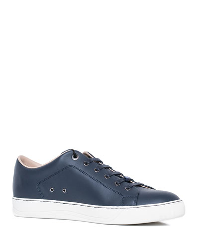 3b338a59392a Men s Leather Low-Top Sneakers