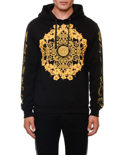 Men's Classical Graphic Pullover Hoodie