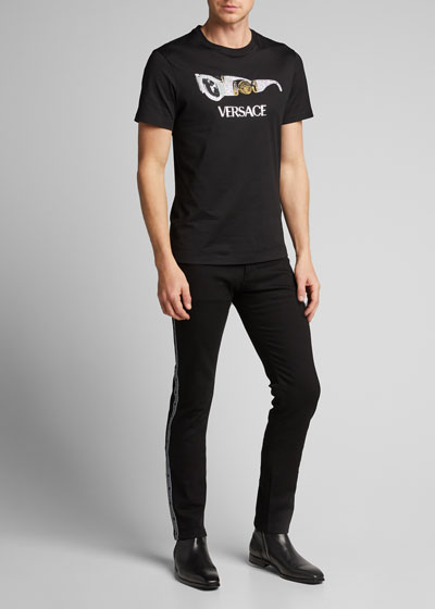Men's Logo Taping Jeans