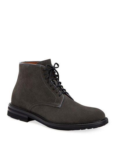 Men's Renzo Suede Lace-Up Boots
