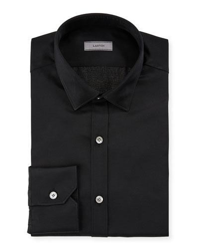 Men's Slim-Fit Serge Metallic Dress Shirt