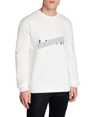 Men's Anti-Logo Graphic Sweatshirt