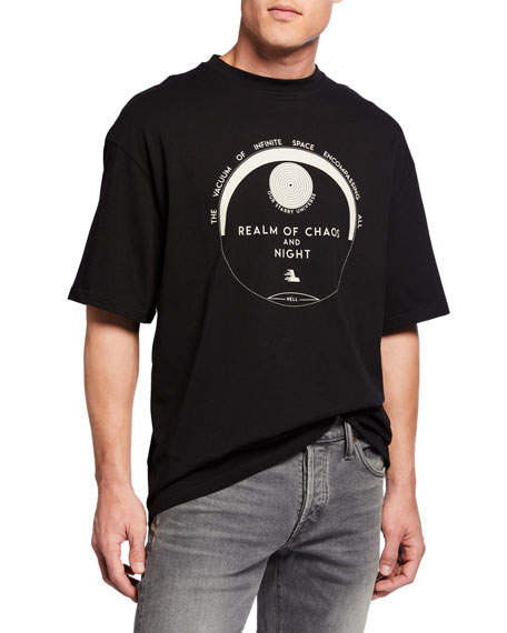 Lanvin Men's Loose-Fit Cotton T-Shirt