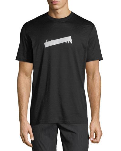 Men's Anti Logo Mercerized T-Shirt
