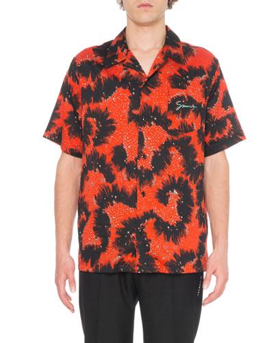 Men's Monster Print Shirt