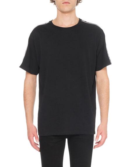 Givenchy Cottons Men's Crew T-Shirt, BLACK