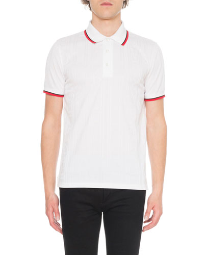 Men's Tonal Logo Polo Shirt
