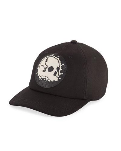 Men's Darned Skull Hat
