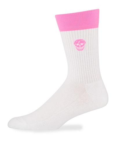 Men's Fluro Stripe Socks