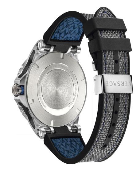 Men's Sport Tech Diver Watch, Navy