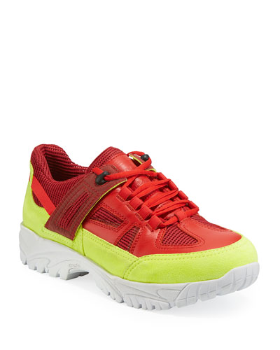 Men's Security Chunky Sneakers w/ Dirty Treatment