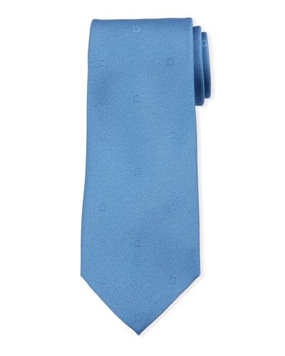 Tonal Gancio Silk Tie
