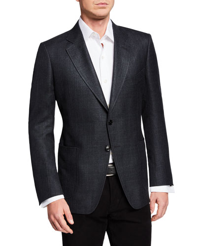 Men's O'Connor Textured Wool/Linen Jacket