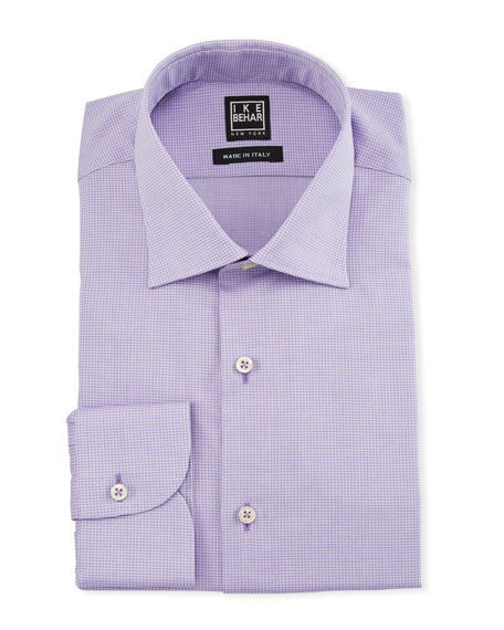 Image 1 of 1: Men's Textured Cotton Dress Shirt