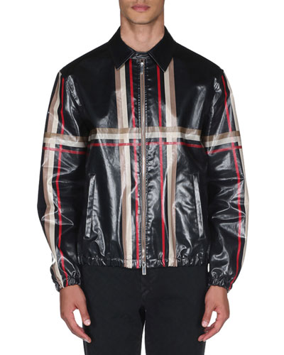 Men's Engineered Checked Jacket