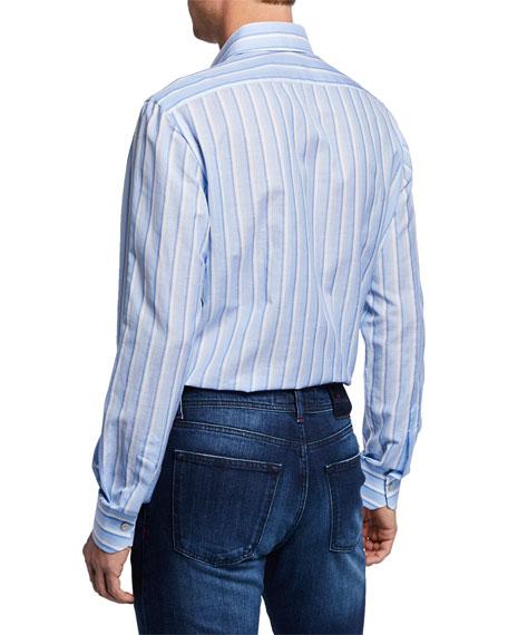 Men's Alternate-Stripe Dress Shirt