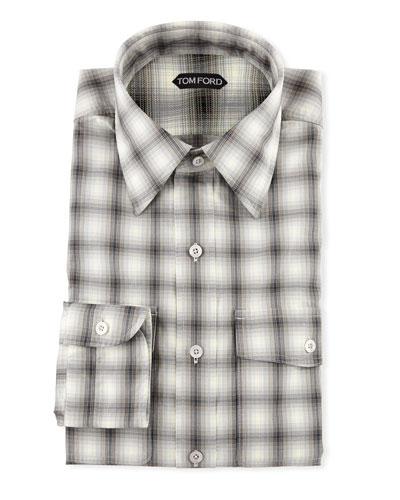 Men's Sport Check Dress Shirt