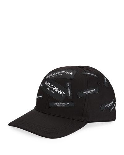 Men s Basic Logo Baseball Cap 350a695dbbf3