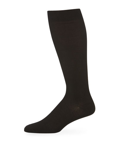 Men's Basic Socks  Black