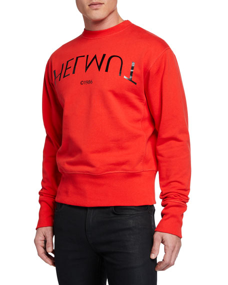 Men's Hack Logo Crewneck Sweatshirt