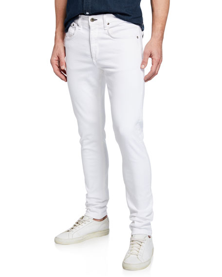 Rag & Bone Men's Fit 1 Slim-Skinny Broken