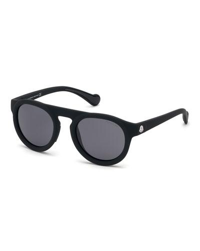 Men's Polarized Rectangle Sunglasses