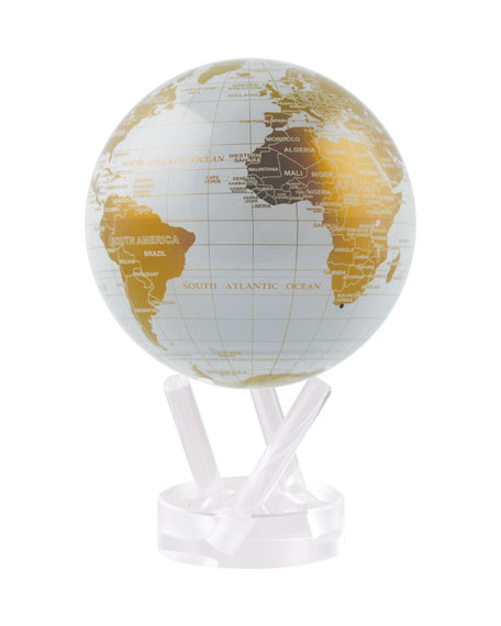 Mova Globe 4.5 Metallic Golden Floating Globe