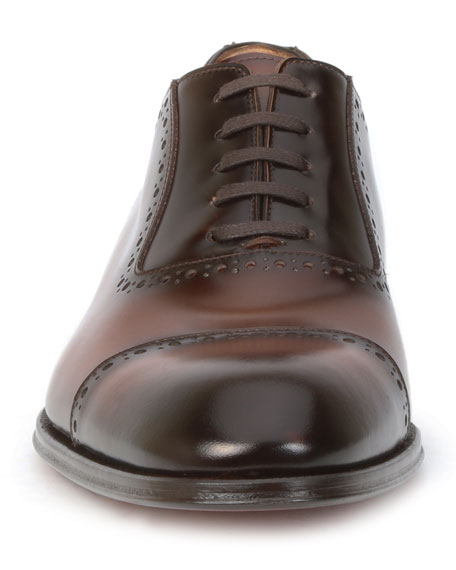 Men's Lucca Cap-Toe Derby Shoes