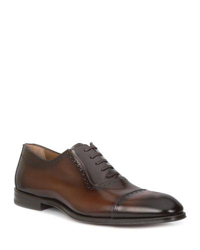 Men's Lucca Cap-Toe Derby Shoes