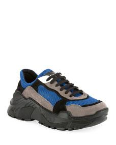 Men's Jace Low Top Tech Sneakers by Balmain