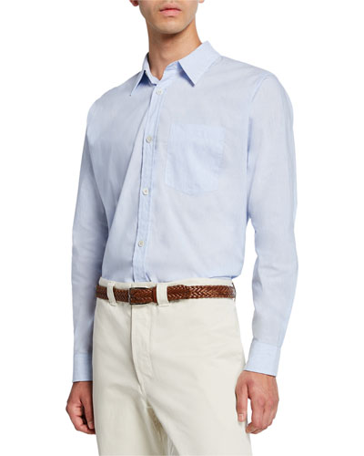 Men's Minimal Pocket Sport Shirt