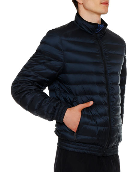 Men's Quilted Packable Jacket