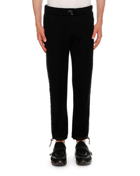 Prada Men's Jogging Pants w/ Nylon Pants