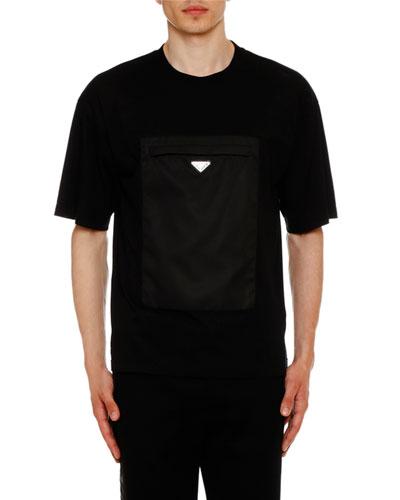 Men's Cotton T-Shirt w/ Pocket