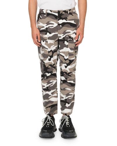 Men's Camouflage Cargo Pants