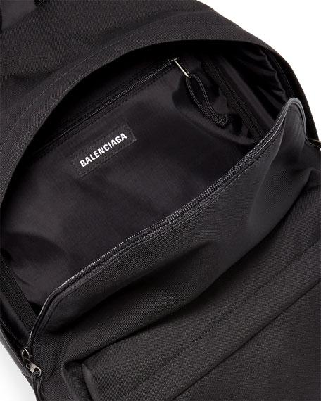 Men's Nylon Double Backpack