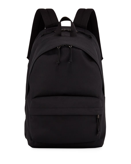 Balenciaga Men's Nylon Double Backpack