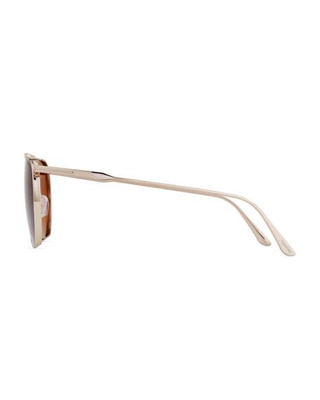 Men's Kip Square Metal Sunglasses