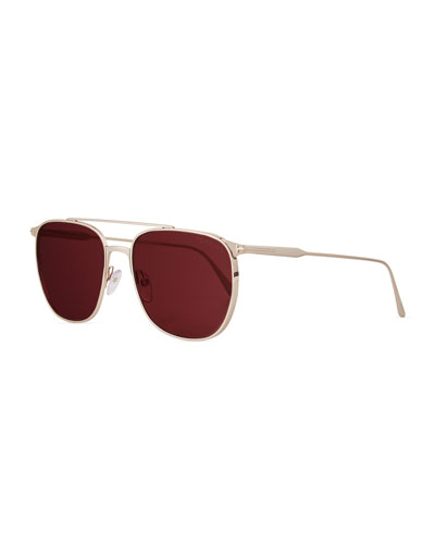 353edf3460 TOM FORD Sunglasses   Round Sunglasses at Bergdorf Goodman