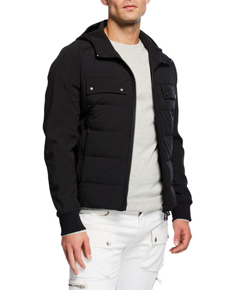 Belstaff Men's Harlyn Hooded Down Jacket