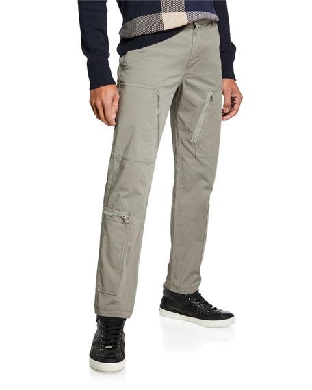 Belstaff Men's Horndon Zip-Pocket Cargo Pants