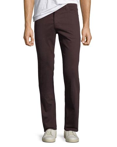Everett Slim-Straight Twill Pants