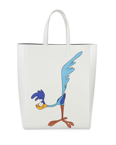 Men's Looney Tunes Road Runner Soft Tote Bag