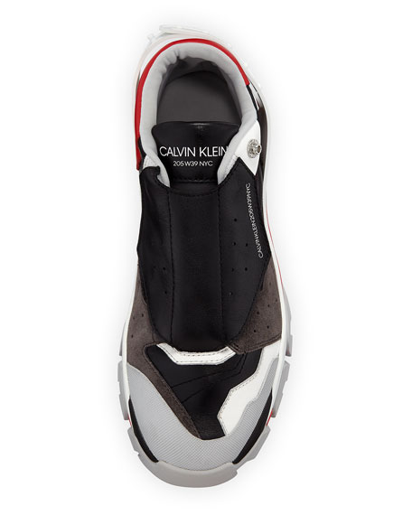 Men's Cander 7 Leather & Neoprene Sneakers