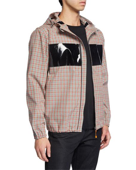 Men's Sport Plaid Zip-Front Jacket