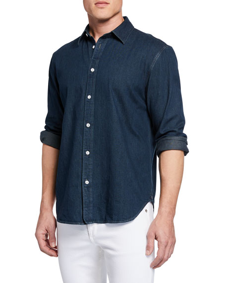 Rag & Bone Men's Fit 3 Chambray Shirt